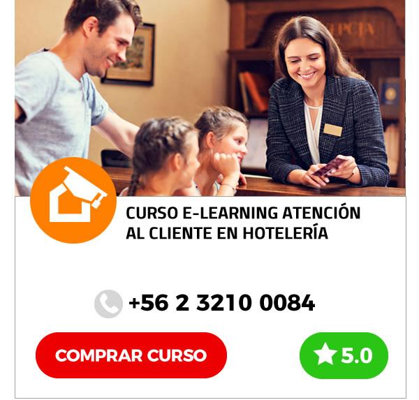 Curso E-learning Atención al Cliente en Hotelería